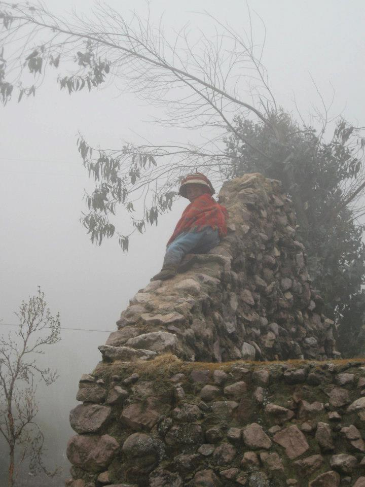 Young child in Huacahuasi